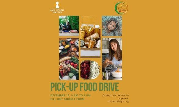 Pickup Food Drive Poster