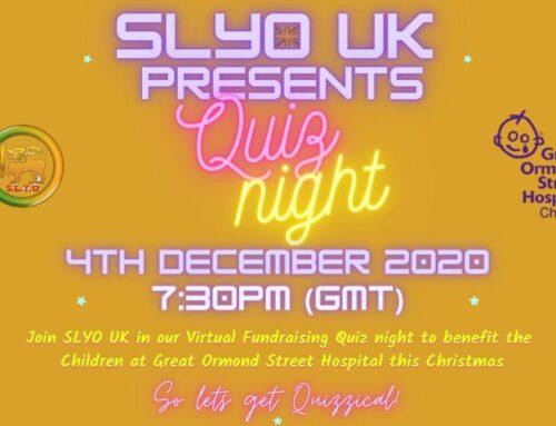SLYO UK | Presents Quiz Night